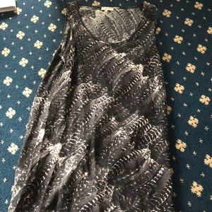 Joie Feather Dress Small